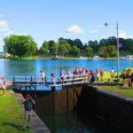 Schleuse Göta-Kanal