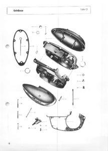 thumbnail of Simmerring-Kurbelwellengehaeuse